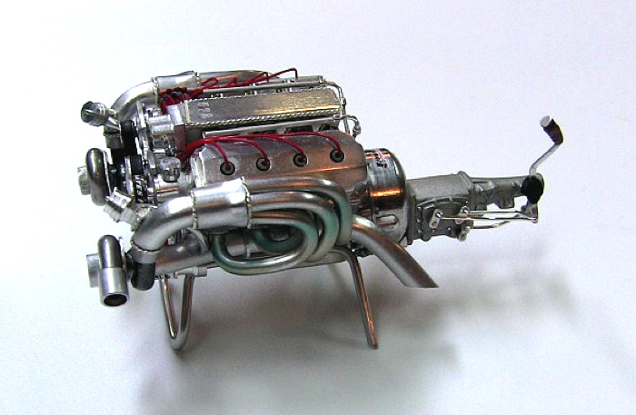 A Scratchbuilt Aluminum Hemi Engine In 1 24 Scale