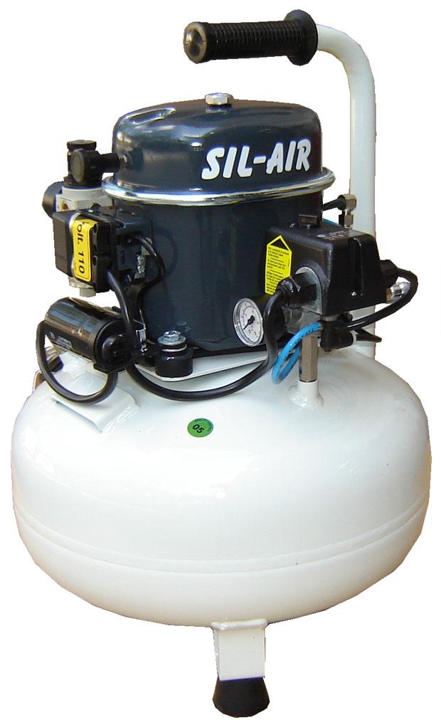 Silentaire Sil Air 50-24 Silent Running Airbrush Compressor.jpg