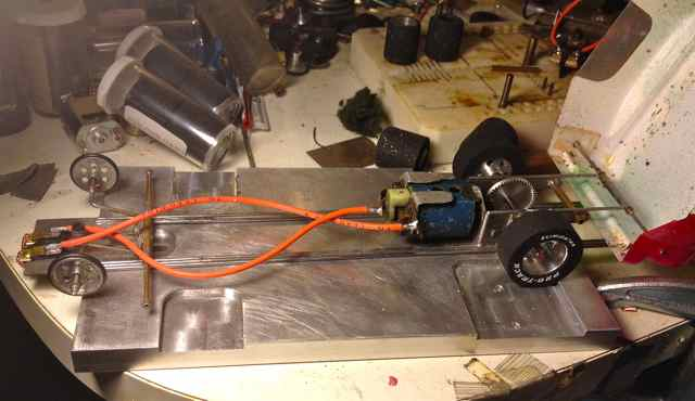 Drag car build basics - Slot Drag Racing - Slotblog