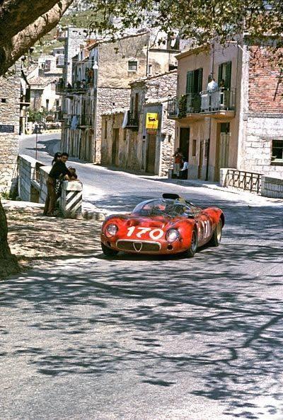 1967 Targa  Andrea de Adamich,  Jean Rolland   Alfa T33.jpg