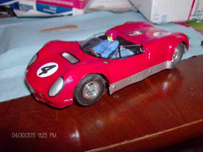 Roadrunner slot car