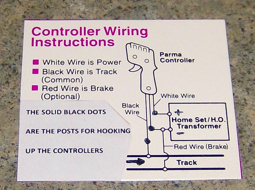 wiring ho slot car track today wiring schematic diagram Ho Model Railroad DCC Wiring