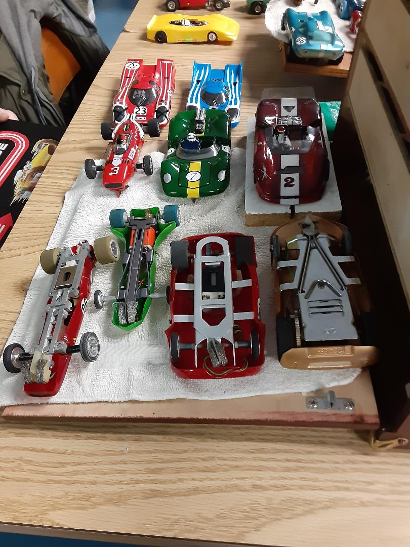 Glenn's collection w JAIL DOOR cars.jpg