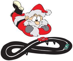Santa & slot car track.jpg
