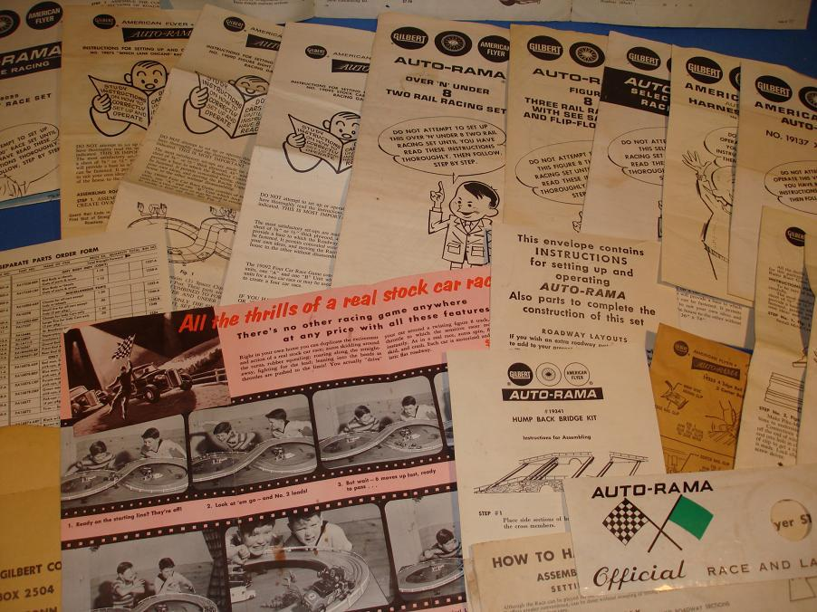 AC_GILBERT_AUTO_RAMA_SLOT_CAR_RACING_PAPERWORK_COLLECTION_CLOSE_UP.JPG